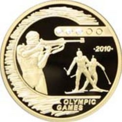 Разные золотые монеты